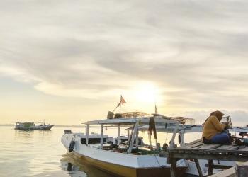 Salah satu sudut pantai di Sapeken [Foto Taufikur Rahman Al Habsyi]
