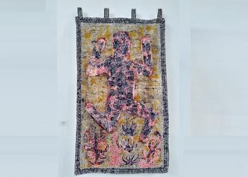 Karya Surya Subratha yang dipamerkan di Kulidan