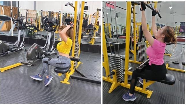 Cewek-cewek sedang gym [Foto penulis]