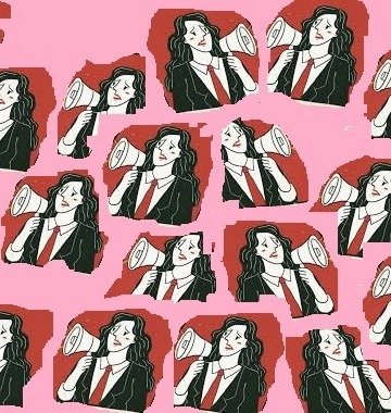 Ilustrasi perempuan dan politik {diolah tatkala.co dari sumber gambar di Google]