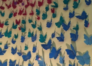 Salah stu karya pada pamaeran Tugas Akhir mahasiswa seni rupa Undiksha Singaraja,  2018