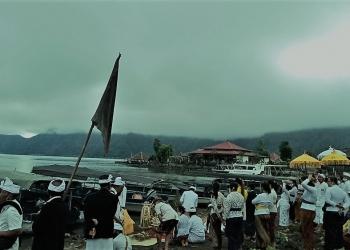 Pemandangan di Desa Kedisan Kintamani Bangli