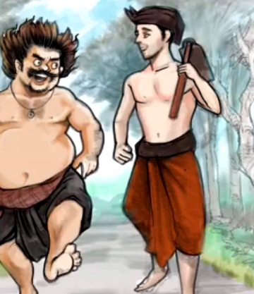 Ilustrasi diambil dari Youtube/Satua Bali Channel