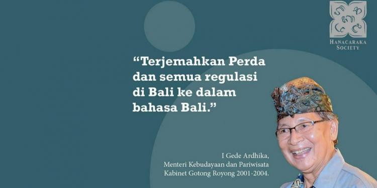 In Memoriam Gede Ardika
