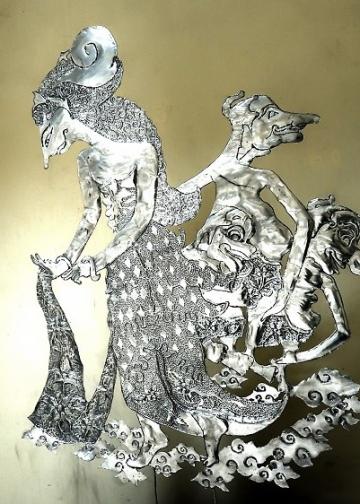 Foto ilustrasi: Salah satu karya dalam pameran seni rupa di Undiksha Singaraja, Juni 2018
