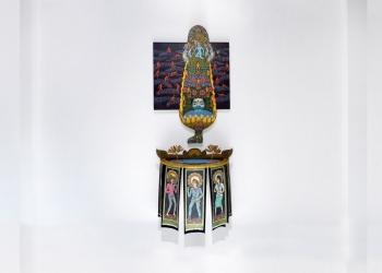 Salah satu karya dalam pameran Bali Emerging Artist (BEA) 2021