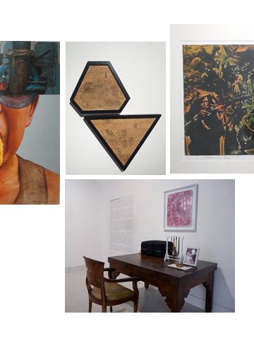 """Sejumlah karya dalam """"Bali Emerging Artist"""" 2021"""